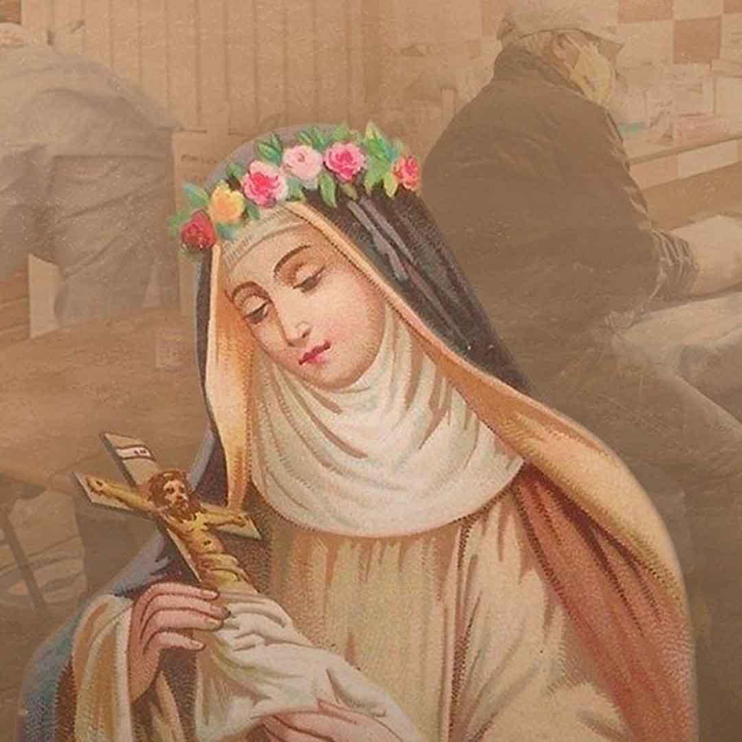 Biografía y oración de Santa Rosa de Lima