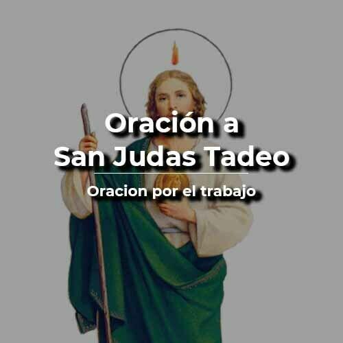 Oración a San Judas tadeo para conseguir trabajo
