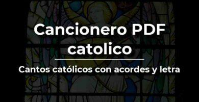cancionero PDF católico con letra y acordes