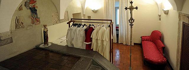 Partes de la Iglesia la sacristía