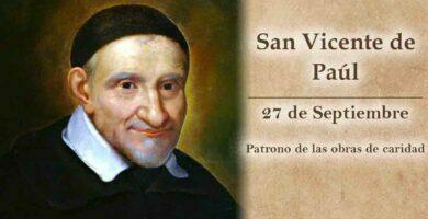 Novena a San Vicente de Paúl