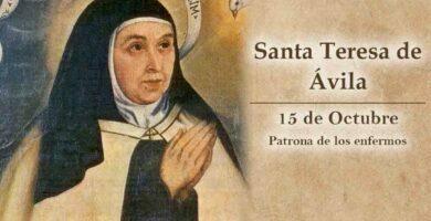 novena a santa teresa de Ávila